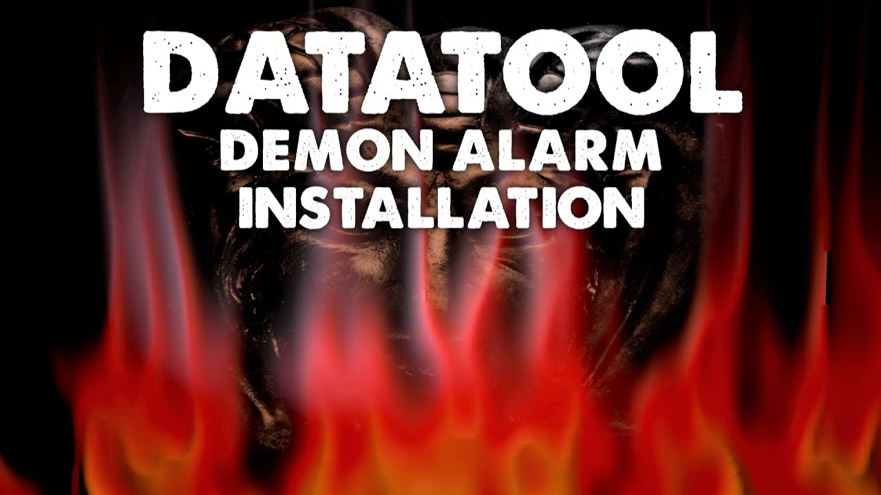 maxresdefault datatool demon alarm installation youtube datatool s4 red wiring diagram at virtualis.co