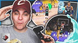 DIAMOND BEN SIMMONS HAS BROKEN THE GAME! SPLASHING 3'S! NBA 2K18 MyTEAM