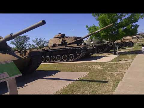 Visiting Ft.Hood Army Museum Pt3