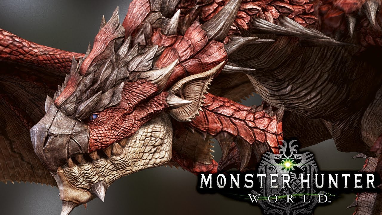 Girls Working Out Wallpaper Its Back Hunting The King Of The Island Rathalos
