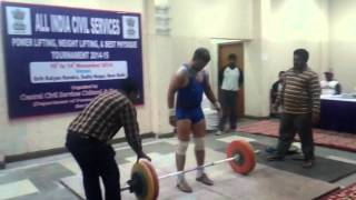 All India Civil Services games weightlifting