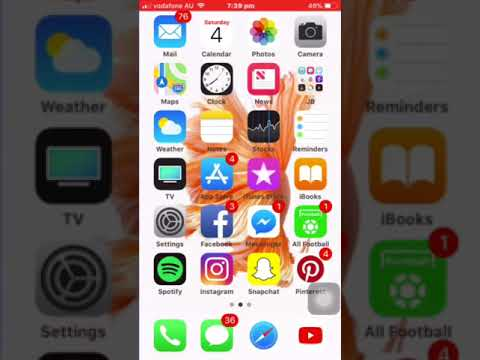 IOS11 HOW TO GET A INVISIBLE DOCK ON IPHONE,IPAD,IPOD