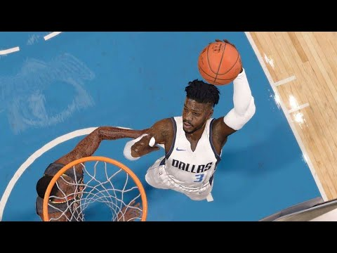 NBA LIVE 18 - Atlanta Hawks vs Dallas Mavericks - 2nd Half - PS4 PRO 1080p - HD