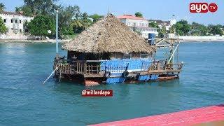 Tazama nyumba zinazoelea baharini Zanzibar