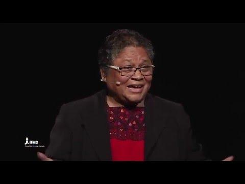 Myrna Cunningham Kain: The diversity of rural women
