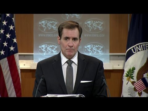 Daily Press Briefing - January 14, 2016