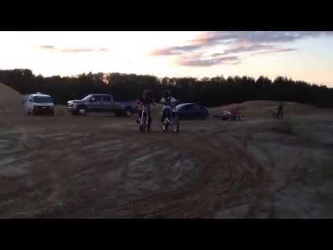FMX Rouyn-Noranda Geoff Gaskin & Steel Cutter practice on WOC ramp