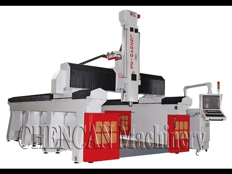 CC-LG2040-3S Light Gantry Machining Center Engraving Wood Mould (with Steel Nail inside)