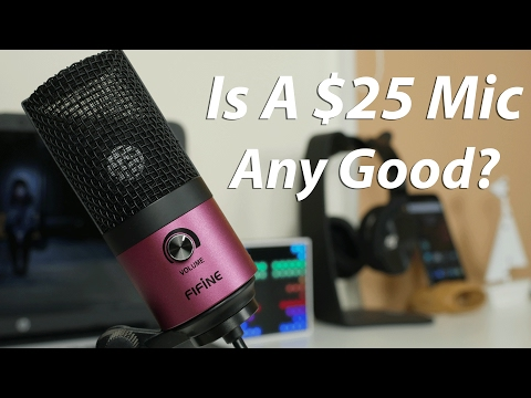 $25 USB Microphone Review With Tests