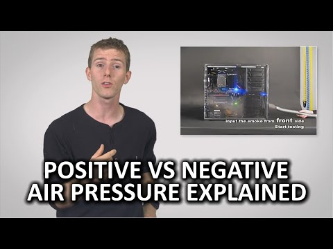 Positive vs Negative Air Pressure as Fast As Possible