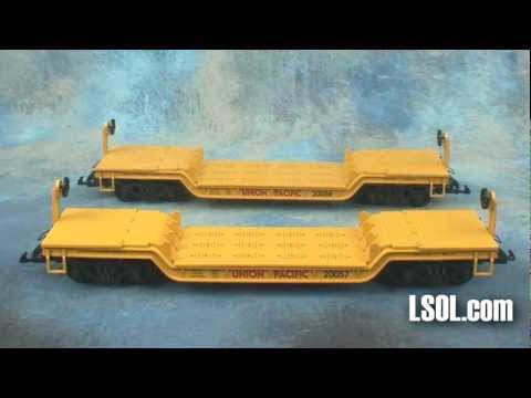 Garden Trains: UnBoxing – USA Trains Depressed Center Flat Cars
