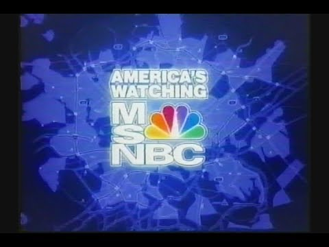 2004 Election Night Coverage MSNBC part4