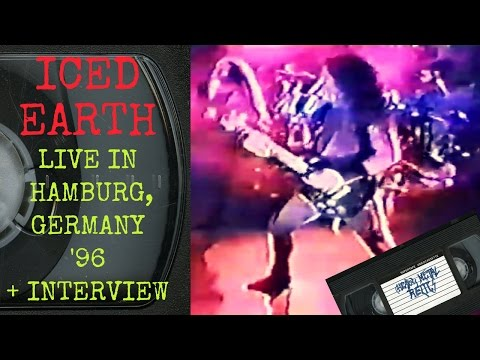 Iced Earth Live in Hamburg Germany August 26 1996 with Interview