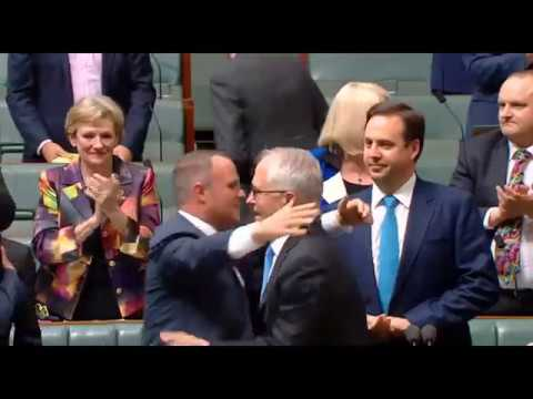 House sings We Are Australian after legalising same-sex marriage