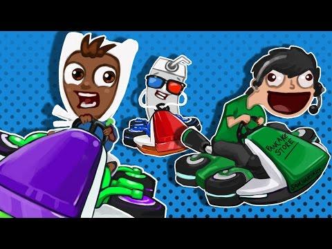 Mario Kart 8 Deluxe Funny Moments - Shake N' Bake!