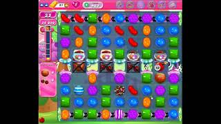 Candy Crush Saga Level 962 No Boosters 3 Stars