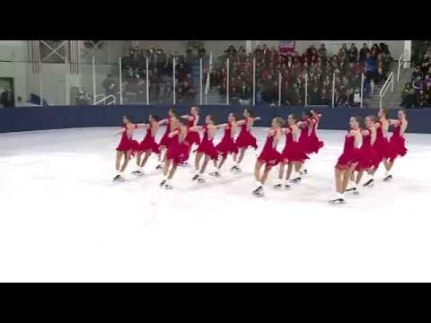2017 Jr. World Team Selection Event.  Synchronized Skating - The Skyliners