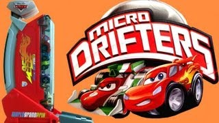 Cars 2 Rapid Fire Launcher Micro Drifters Dispenser