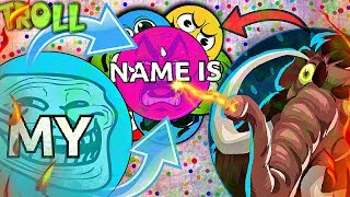 "Agar.io TROLLING ""MY NAME IS... v2"" in Agario |  Agar.io FUNNY MOMENTS"