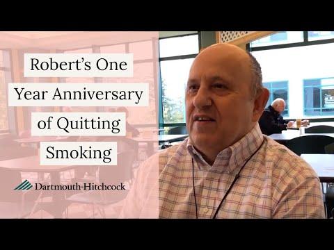Robert's One-Year Anniversary Of Quitting Smoking