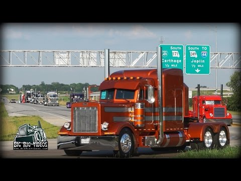 Super Rigs Convoy - Equipment Express / J&L Contracting