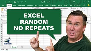 "Learn Excel 2010 - ""Random with No Repeats"": Podcast #1471"