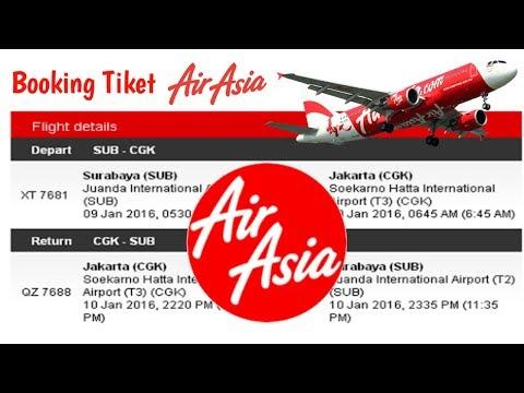 Cara Booking Tiket Air Asia Dan Cara Bayarnya