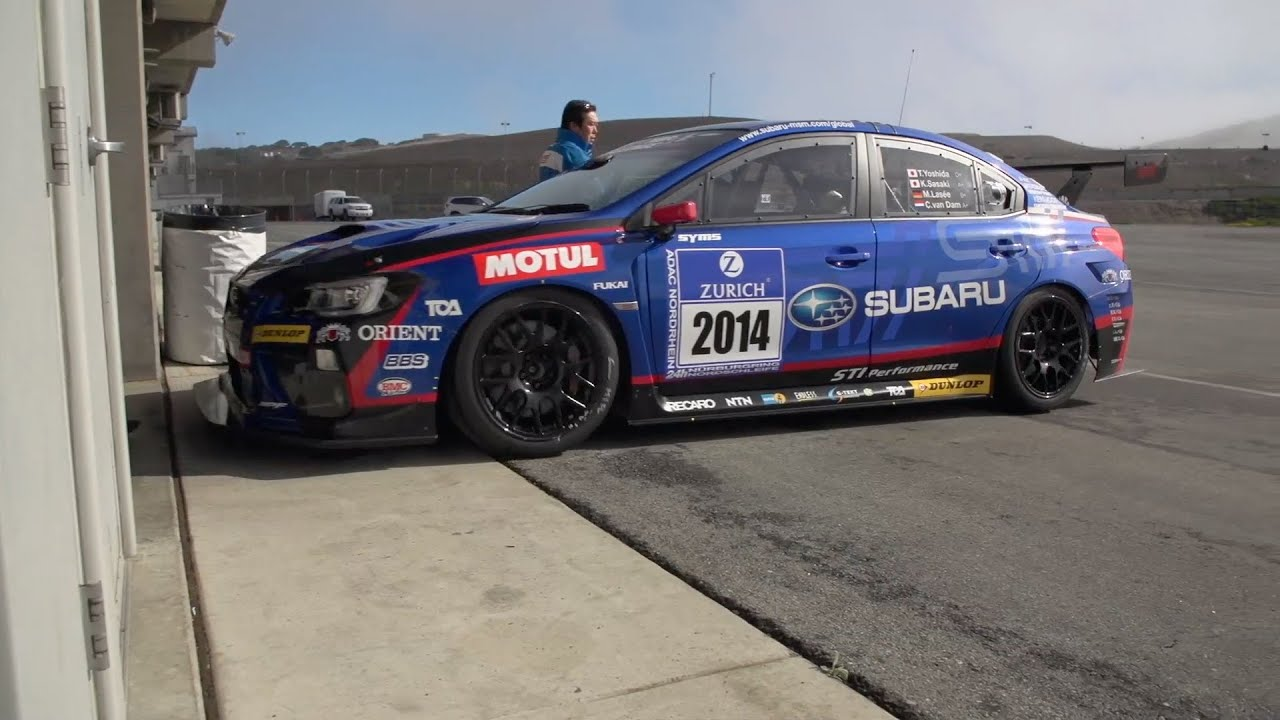 ▻ 2015 Subaru WRX STI Racecar at Laguna Seca - YouTube