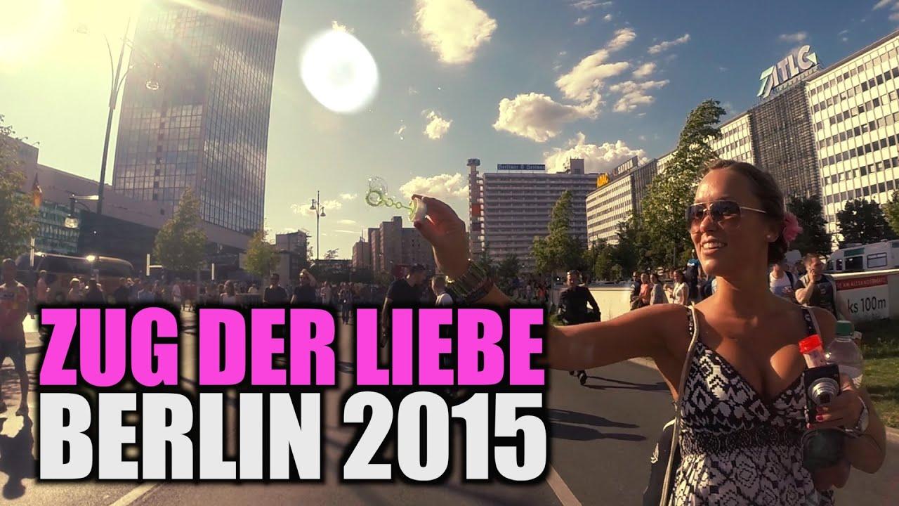 Zug Der Liebe 2015 Technoparty Zieht Durch Berlin Youtube