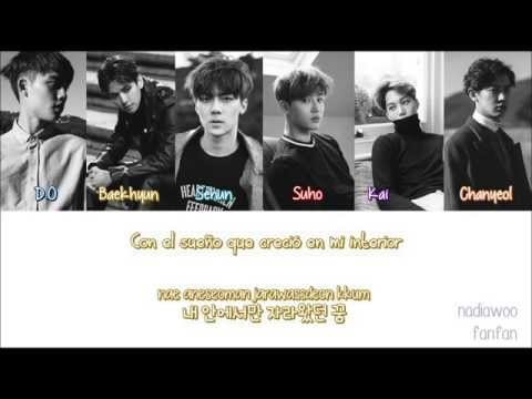 EXO - What If (시선 둘, 시선 하나) Korean Version [ Sub Español /Romanizacion/Hangul] (Color Coded)
