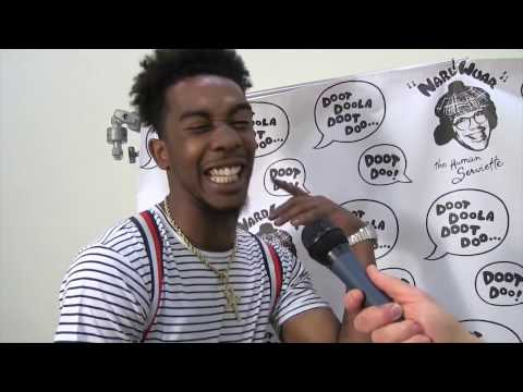 Desiigner loses ability to communicate in the english language whilst being interviewed by Nardwuar