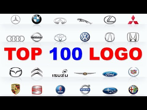 TOP 100 LOGO CARS | 100 BEST CAR BRANDS | Learn Car Brands with Red Cat.