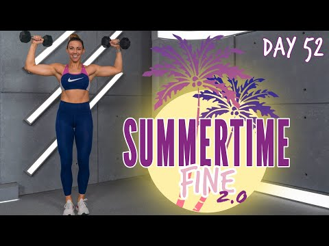 30 Minute Upper Body and Cardio Circuit Workout | Summertime Fine 2.0 Day 52