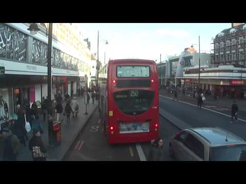 Number 196 bus ride from Norwood Junction to Elephant & Castle, London (the full complete journey).