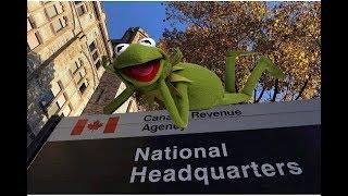 KERMIT CALLS CANADIAN REVENUE