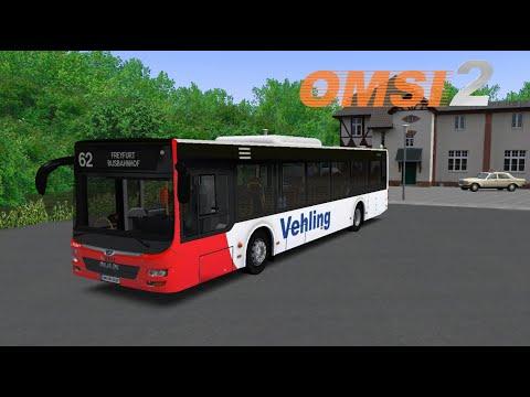OMSI 2   62 Freyfurt Busbahnhof  