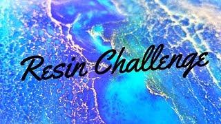 Resin Color Palette Challenge (PUDDLE POUR TUTORIAL)