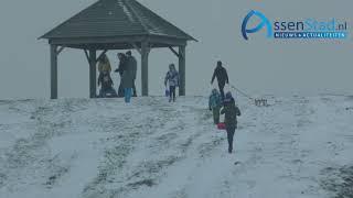 slee racen van heuvel Kloosterveen