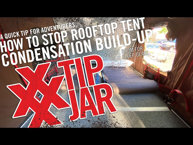 How to Stop Floor Condensation in a Rooftop Tent - iKamper Skycamp Mini on Subaru Outback