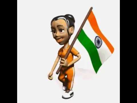 Indian flag gif by mihir shah