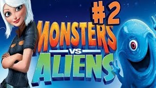 Monsters vs. Aliens - Walkthrough - Part 2 - Helping Hand (PC) [HD]
