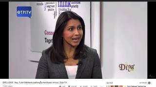 Tulsi Gabbard crushes her establishment neoLib critics! Knocks It Out of the Park!, From YouTubeVideos