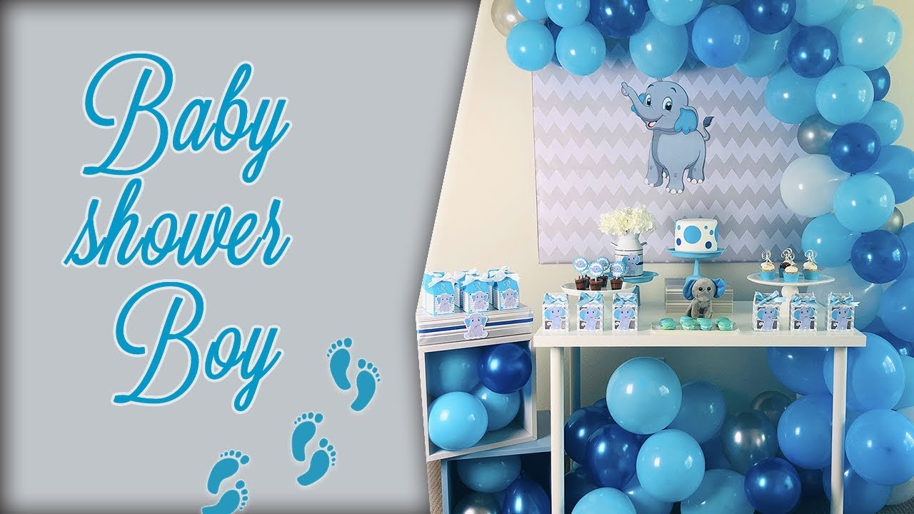 Manualidades Sencillas Para Baby Shower.Decoracion Baby Shower Nino Casera Baby Shower Boy