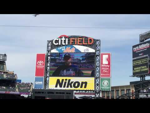 New York Mets 2017 Opening Day Ceremonies (Including Lineups/Intro [vs. Atlanta Braves])