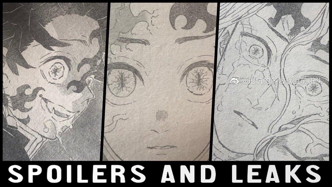 DEMON King TANJIRO Kimetsu No Yaiba Chapter 201 Leaks & Spoilers
