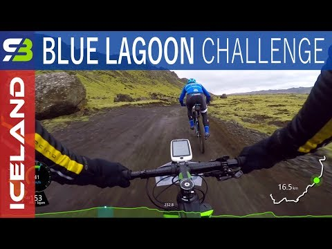 Blue Lagoon Challenge MTB Race 2017 In Iceland. Bláa Lónið Keppni.