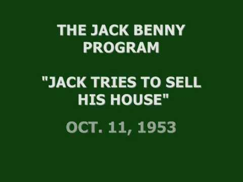 "THE JACK BENNY PROGRAM -- ""JACK TRIES TO SELL HIS HOUSE"" (10-11-53)"
