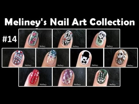 Meliney nail art design collection 14 youtube meliney nail art design collection 14 prinsesfo Gallery