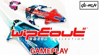 Vídeo Wipeout Omega Collection