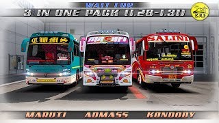 🔴Three In One Pack..!!!Testing Video-ETS2 1.28,1.30,1.31||Proud Moment!!TeamKBS